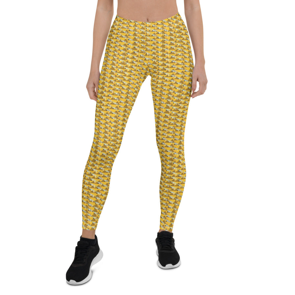 Energizing Shooting Stars and Pyramid Leggings - 25% discount at check-out!