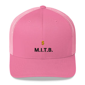 M.I.T.B Trucker Cap - 25% discount at check-out!