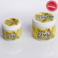 Set of 2 BeeProtX Hand & Foot Cream Tubs