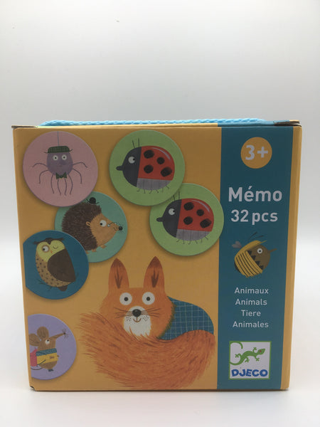 6568-Memo Game Animals