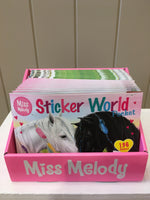 4250-Miss Melody Sticker World