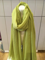 6835-Lightweight Plain Scarf