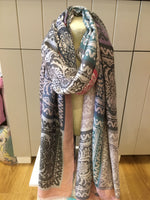 6836-Polyester Print Scarf