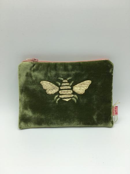 1803-Velvet Coin Purse (various designs and colours)