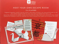 7078-Host Your Own Escape Room Game (Red)