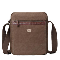 3858-Troop Leather Strip Bag 218