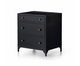 Belmont Storage Nightstand - Black