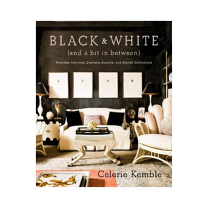 black and white book