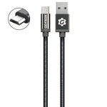 Cable Micro USB Negro Premium Braided