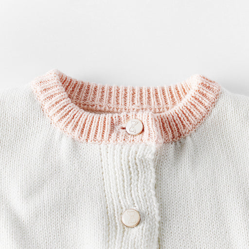 Pocket Knit Baby Sweater