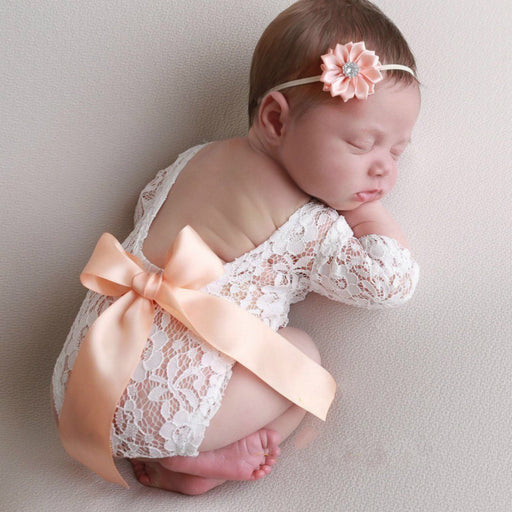 Newborn Coming Home Outfit, Newborn Photo Romper, Newborn Photo Prop Girl, Newborn Photography Prop, Newborn Baby Girl Prop, Newborn Outfit