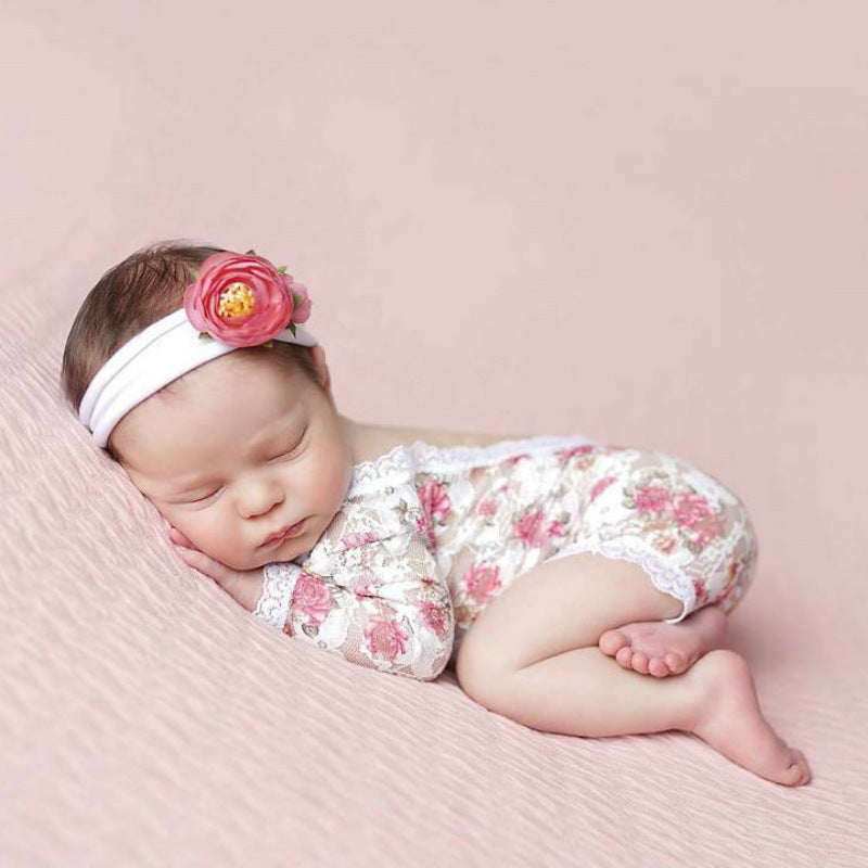 Baby Shower Gift, NEWBORN GIRL Take Home Outfit, Baby Girl Hospital Outfit, Newborn Baby Props, Newborn Lace Romper, Newborn Girl Romper