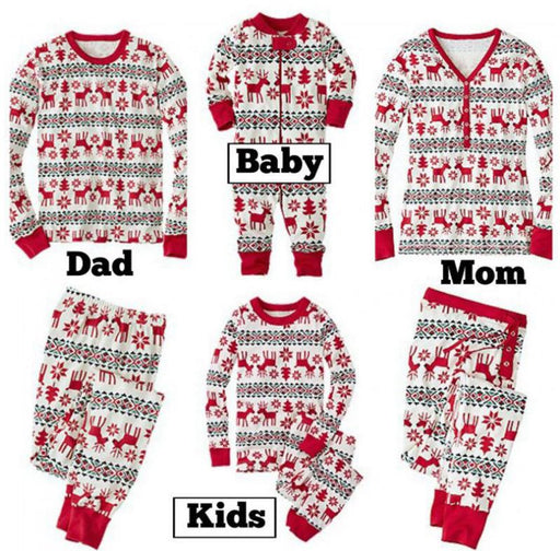 Family Pajamas - Christmas  print
