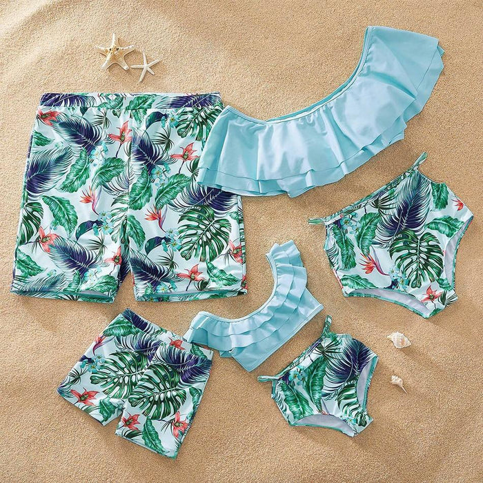 Family Swimwear - Pineapple printed