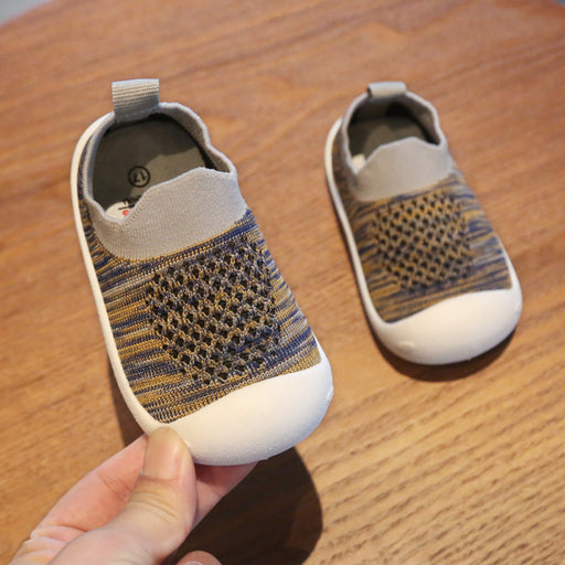Crochet Knit Baby 24-48 Months Soft Wear Sneaker