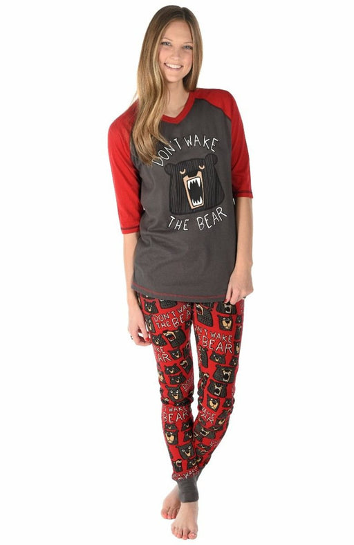 Family Pajamas - Black Bear printing