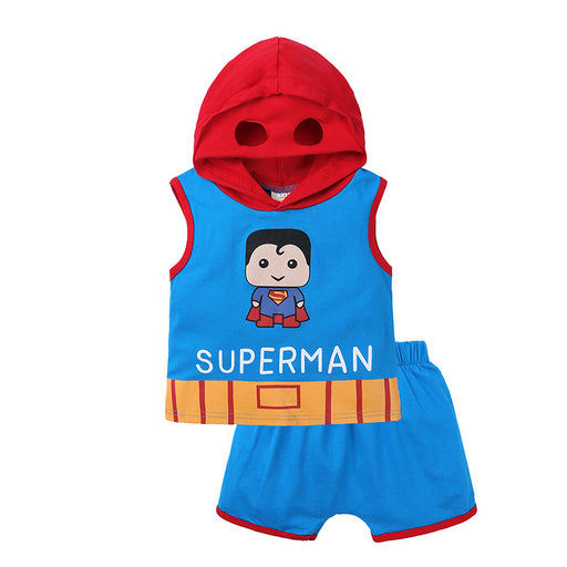 Baby Boy Superman Vest Costume