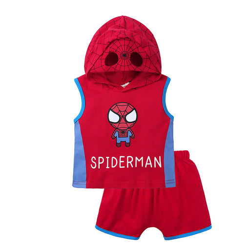 Baby Boy Spiderman Vest Costume