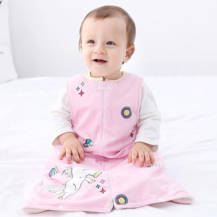 Funny MICHLEY flannel pajamas children's Baby Onesie