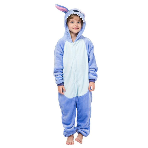 Younkiu Stitch cartoon animal Siamese children's Kids Onesie
