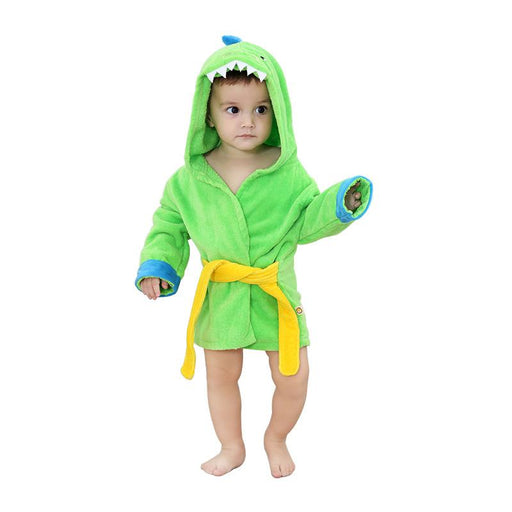 Funny Cotton Towel Cartoon Little Dinosaur Baby Onesie