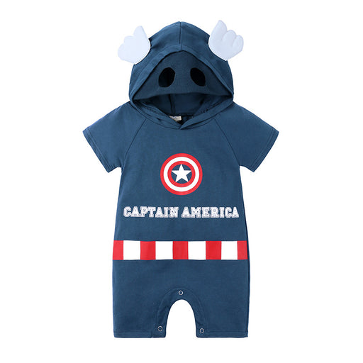 Male baby cartoon shape five-pointed star robe clothes