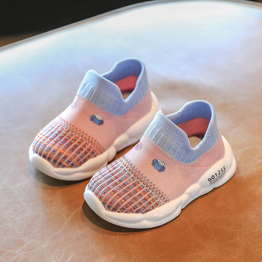 Crochet Knitted Baby Girl Happy Walker Journey Sneaker