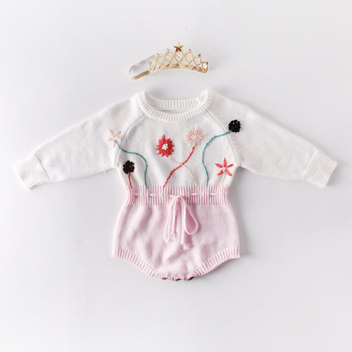 Baby Hand Crochet Knitting Jumpsuit