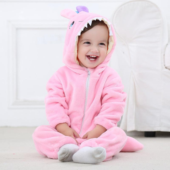 Funny Shark Bear Bunny Tiger Animal Garden baby clothes jumpsuit Baby Onesie
