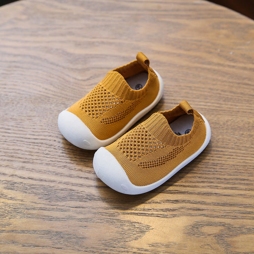Crochet Knit Baby Begin To Walk Sneaker