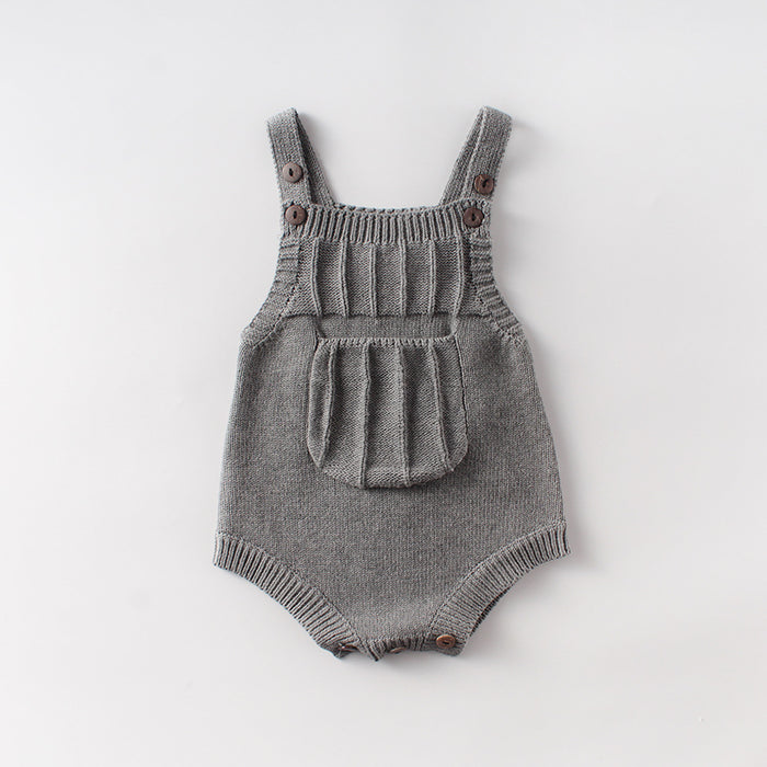 Baby Knit Wool Jumpsuit