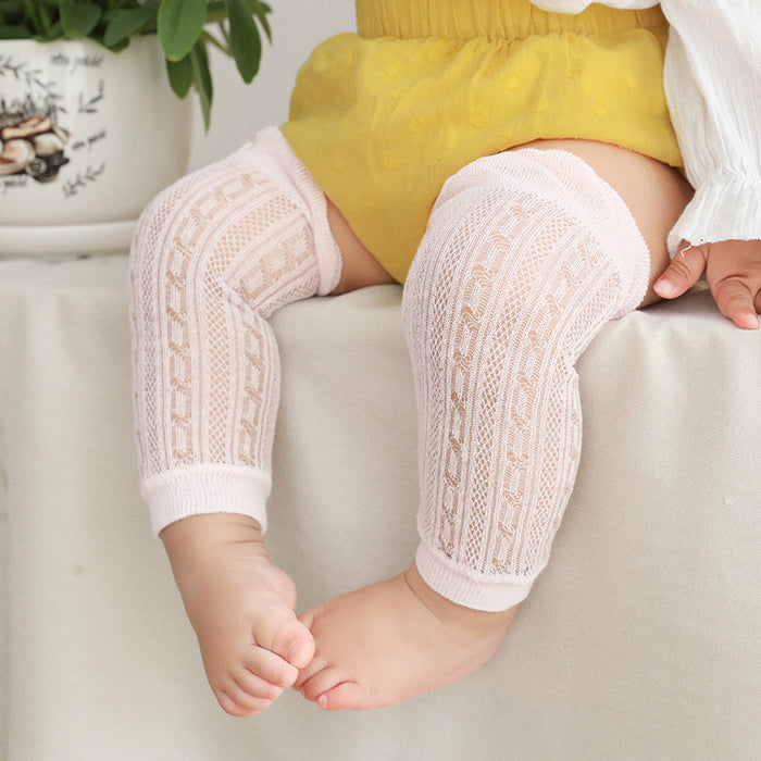 Baby Kneecaps Crawling Mosquito Repellent Air-Conditioned Knit Socks