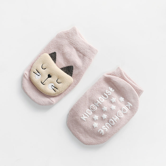 Cartoon Animal Skidproof Baby Knitted Socks