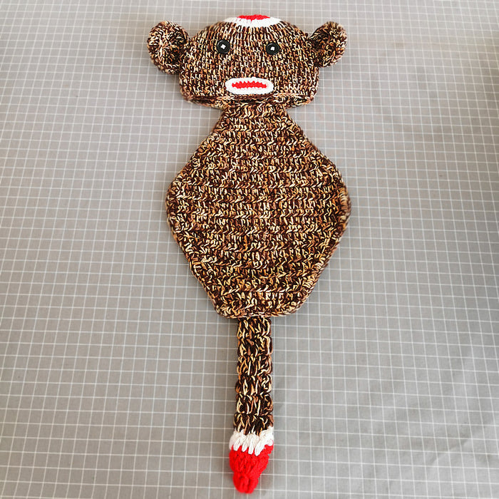 Hand-crocheted Knitting Newborn Paul Frank Photography Suit