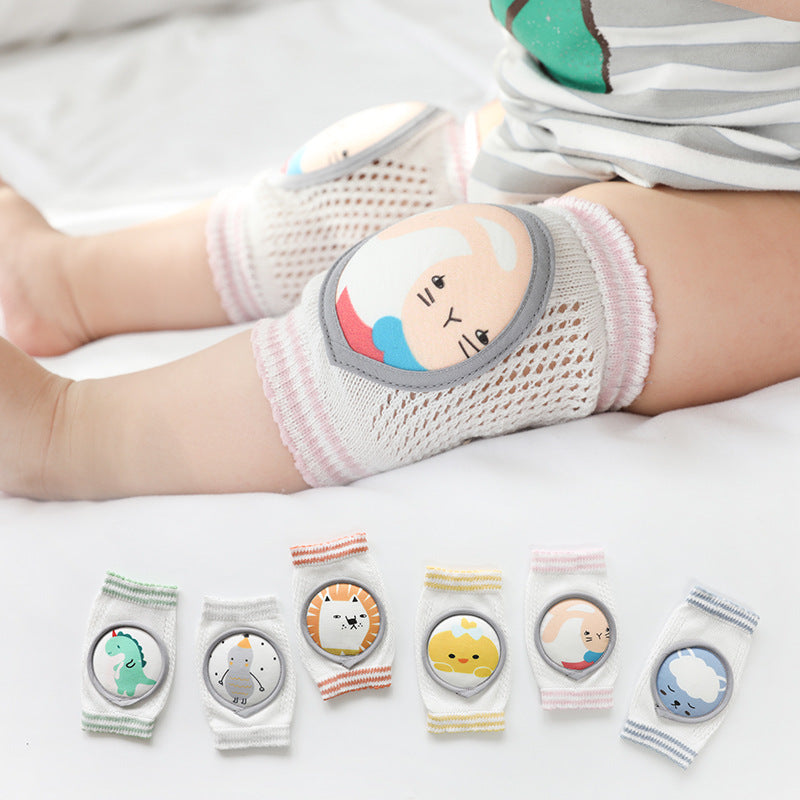 Breathable Baby Crawl Kint Knee Pads