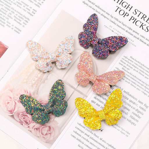 Sequin Butterfly Hairpin Performance Hair Accessories Mengbao Daai Hairpin