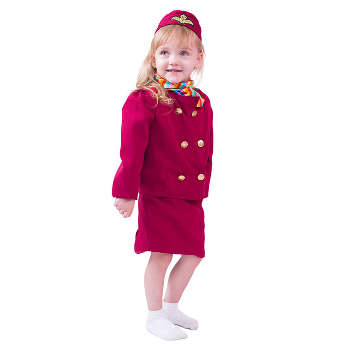 Halloween professional experience air hostess performance costume