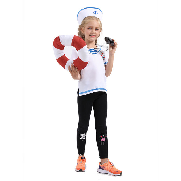 Little navy sailor costume