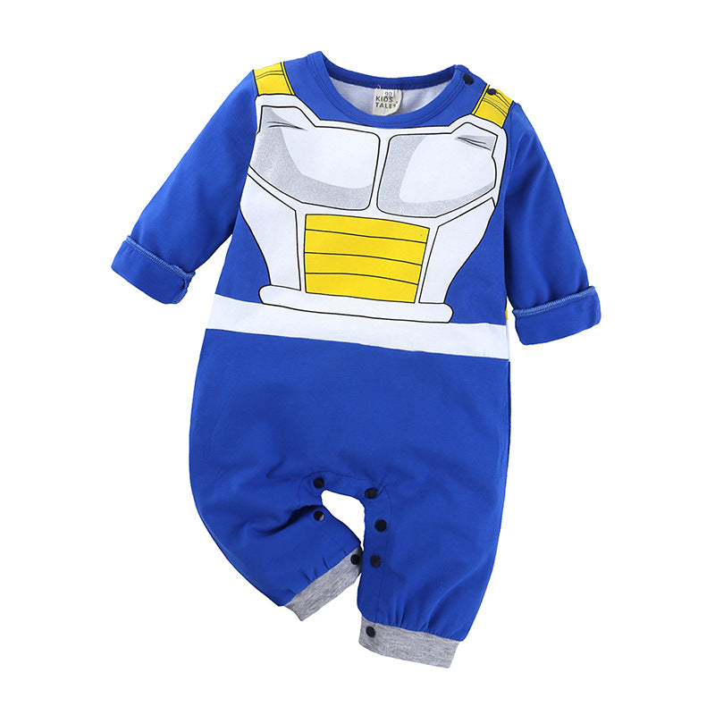 Baby boy anime cartoon clothes jumpsuit