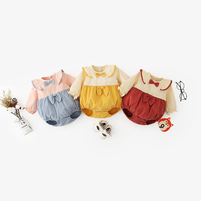 Infant One-Piece Romper Beauty Treasure Climbing Clothes Triangle Bag Fart