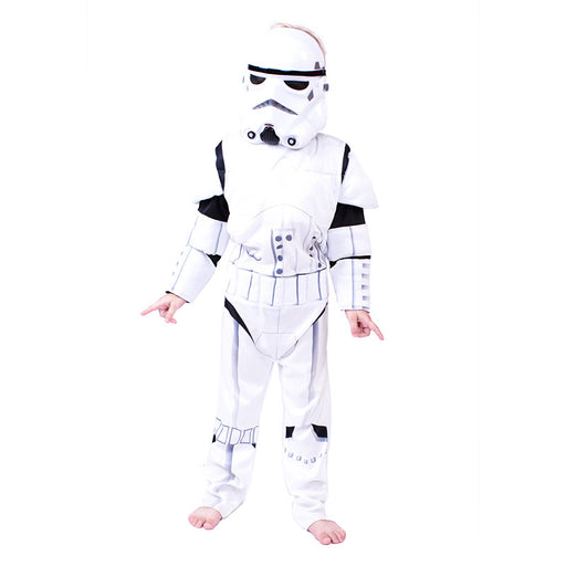 Star Wars clothes white soldiers clone Jedi samurai cloak anime cos science fiction clothes