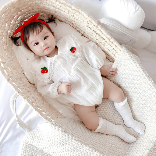 Fruit One-Piece Romper, Cute Triangle Climbing Clothes For Babies