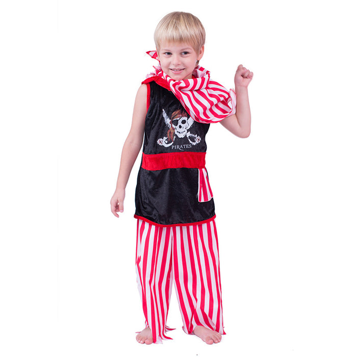 Halloween pirate cosplay suit