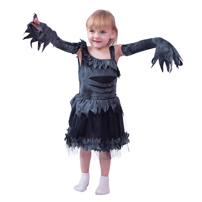Halloween cosplay little witch bat witch glowing one-piece princess dress