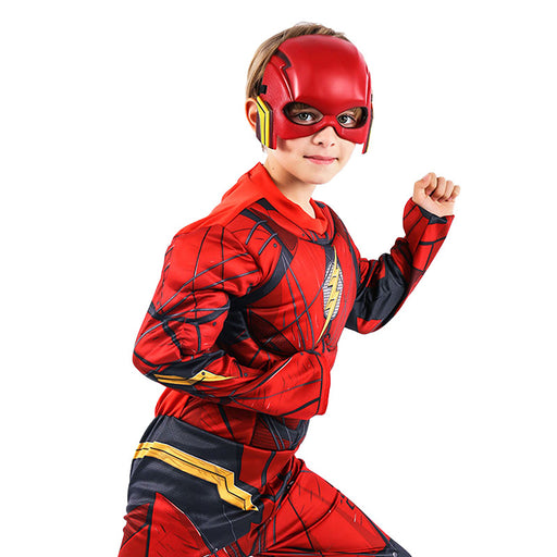 Superhero muscle outfit Flash Halloween anime costume