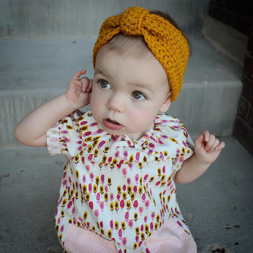 Knitted Boho Baby Headband Knitting Wool Earmuffs