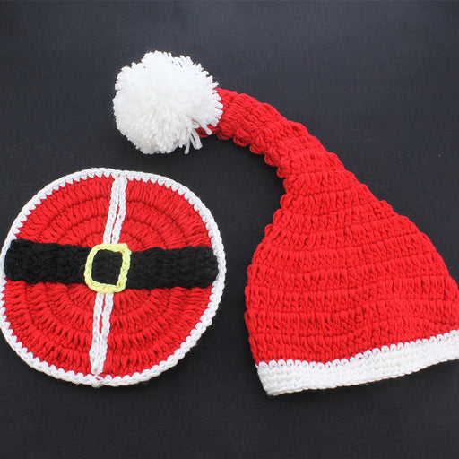 Baby photo costume woolen knitted Christmas costume Baby Photo Props