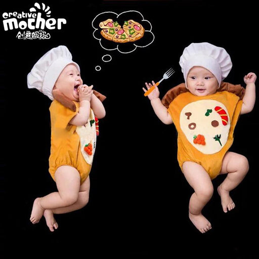 Children's chef set Baby Photo Props