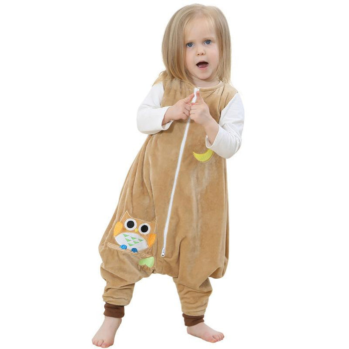 Younkiu Toddler Romper Night Light Robe Animal Baby Onesie
