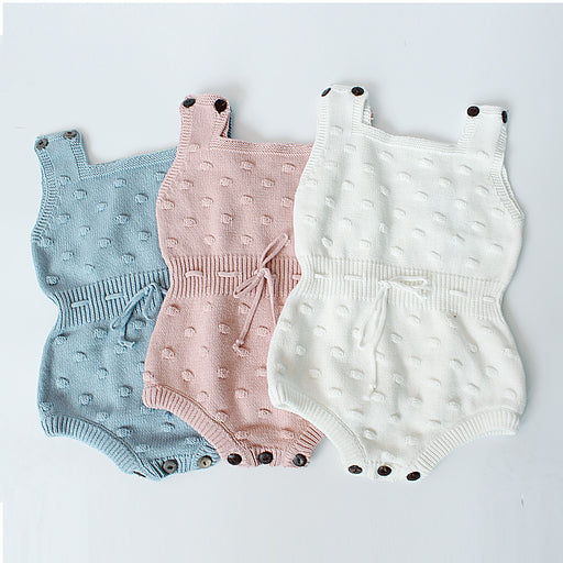 Baby Knitting Wool Jumpsuit